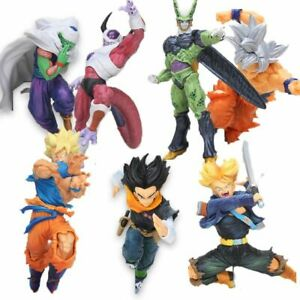 Dragon Ball Z Son Goku Black Vegeta Trunks Cell Action Figure Collection Toys