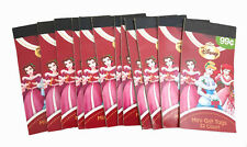 Princesses 384 Disney Christmas Holiday Gift Tags Booklet Stickers Lot Glitter