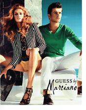 Publicité Advertising 088 2012   Guess by Marciano   sacs maroquinerie pret à po