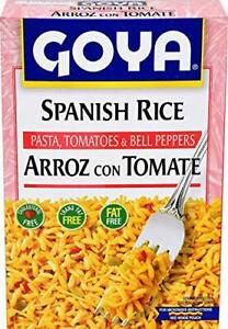 Goya Spanish Rice 8 oz with Pasta, Tomatos and Peppers