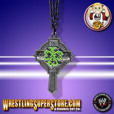 WWE Sheamus Green Cross Pendant