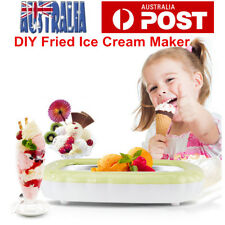 Fried Ice Cream Pan Ice Tray Frozen Yoghurt Roll Maker Fried Yoghurt Cola Juice