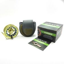 Orvis Hydros SL III Fly Reel. Citron. W/ Box and Case.