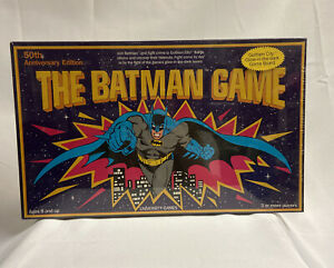 The Batman Game Vintage 1989 Board Game 50th Anniversary Edition New Sealed