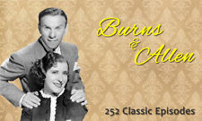 Burns and Allen Show - OTR - 252 Episodes - 3 MP3 CDs
