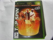 XBOX TOP SPIN  jeu tennis