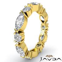 Solitaire Diamond Mens Half Wedding Band 14k White Gold