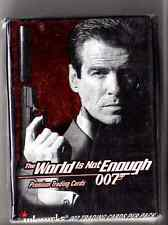 """James Bond """"The World is not Enough""""  card set"""