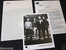 SOMETHING HAPPENS 'BEDLAM A GO-GO' 1992 PRESS KIT--PHOTO