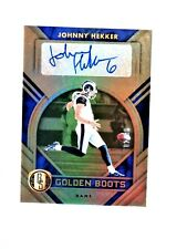 Johnny Hekker 2020 Gold Standard/ Golden Boots Auto #'d 82/99 - LA Rams
