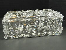 Tiffany & Company Crystal Disney World Swan & Dolphin Jewelry Trinket Box Vanity