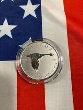 2020 2 oz Canada Goose Silver Coin .9999 Fine BU in Cap
