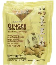 2 Bags Ginger Honey Crystals Instant Tea Prince of Peace Ginger Tea 60 Sachets