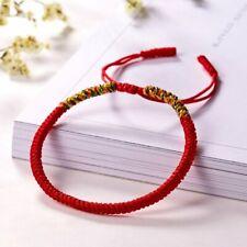 Retro Tibetan Buddhist Lucky Tibetan Bangles Women Men Knot Rope Bracelet Gift