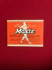 "1950's, Ted Williams, ""Un-used"" MOXIE Bottle Label (Scarce / Vintage)"