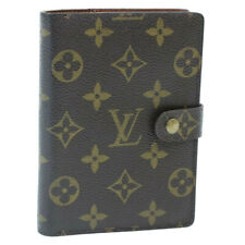 LOUIS VUITTON Monogram Agenda PM Day Planner Cover R20005 LV Auth yk062