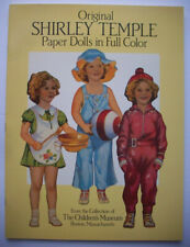 Shirley Temple Paper dolls uncut 1988 Dover Movie Star