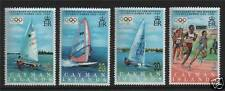 Mint Hinged Caymanian Stamps