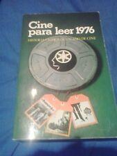 CINE PARA LEER 1976 LIBRO  EQUIPO RESEÑA . MENSAJERO