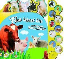 Bauernhof Soundbuch mit 10 Tonmodulen von Parragon | Buch | Zustand gut