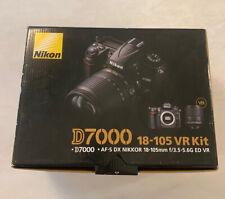New listing Nikon D D7000 Digital Slr Camera Kit- Black Nikon 18-105mm f/3.5-5.6G Ed Vr Lens