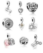 NEW PANDORA MOTHER & DAUGHTER FRIENDS FOREVER FAMILY LOVE CHARMS LOVE FAMILY