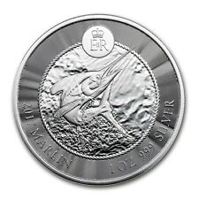 1 oncia 999 Argento Moneta d'argento Marlin Cayman Isole Pesce di blocco