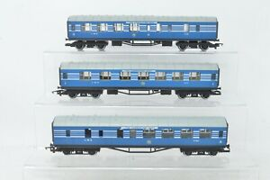 Hornby OO Gauge - R422/423 LMS Coronation Scot Coaches - Boxed