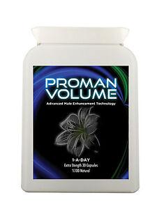 ProMan Volume Increase Semen Volume by 500% Improve Fertility male