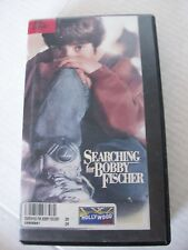 SEARCHING FOR BOBBY FISCHER,  MAX POMERANCS, STEVEN ZAILLAN, VHS  1994