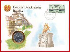 ** DDR Numisbrief vom ** 15.Nov.1989 mit Münze ** 1 Mark 1981 ** TOP !!!