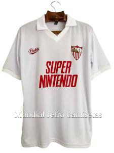 Maradona Sevilla jersey maglia camiseta home 1992  (Sevilla retro)