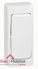 Interrupteur va et vient étroit saillie complet 10A - blanc Legrand 86084