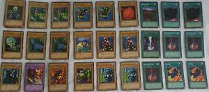 Yugioh English Booster Legend of Blue-Eyes White Dragon LOB-E 2002 - 87 cards