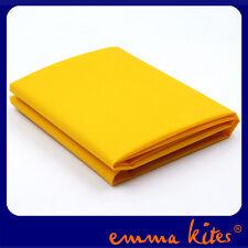 NEW Waterproof Ripstop Nylon Fabric Dark Yellow PU Coated for Kite Hammock Make