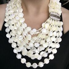 Heidi Daus 'Captivating Cascade' Mother Of Pearl Multistrand Necklace