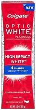 Colgate Toothpaste Glistening Mint Optic White High Impact 85G