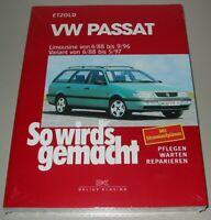 Reparaturanleitung VW Passat B4 Typ 3A Benzin + Diesel + VR6 Reparatur Buch NEU!