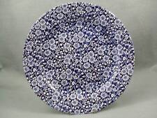 Queen's Victorian Calico Blue Dinner Plate