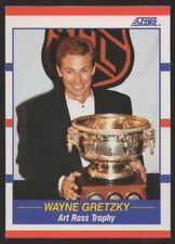 1990-91 SCORE #361 – 1990 ART ROSS TROPHY – WAYNE GRETZKY