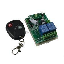 12V 2 Channel 315MHz Wireless RF Remote Control Receiver for motor light garage
