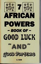 THE 7 AFRICAN POWERS BOOK OF GOOD LUCK & GOOD FORTUNE seven orishas