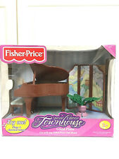 Fisher Price Special Edition Family Doll House Townhouse Grand Piano