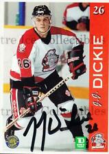 1996-97 Sault Ste. Marie Greyhounds Autographed #5 JJ Dickie
