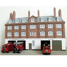 Kingsway, 00 scale, London County Council fire station,  ready made