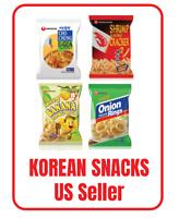 2pks Korean NONGSHIM Popular Delicious Snack Collection K-Snacks