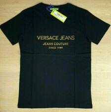 Versace Jeans Couture Herren Dunkelblau T-Shirt Golden Logo