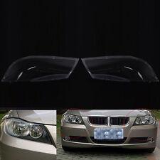 Car headlight cover headlamp lens cover Pair for BMW E90 2004-2007