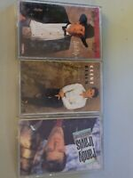 Lot of 3 COUNTRY CASSETTE TAPES George strait Clint black randy travis