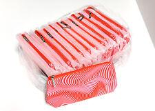 Lot of 36 Clinique Cosmetic Makeup Bag Zipper Pouch Medium size NEW